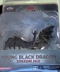Attack Wing: Dungeons and Dragons - Wave Nine: Young Black Dragon Expansion Pack
