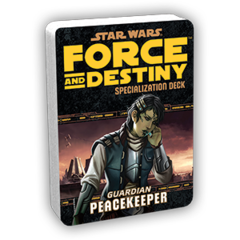Star Wars: Force and Destiny - Guardian Peacekeeper