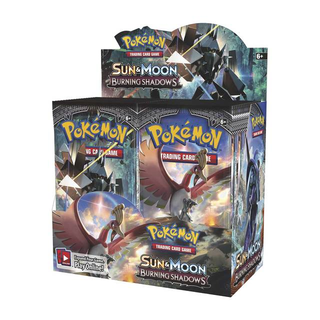 Sun & Moon - Burning Shadows - Booster Box