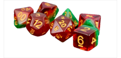 Watermelon 16mm Poly Dice Set