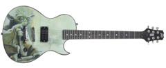 Star Wars Yoda FS Single-Cut Guitar