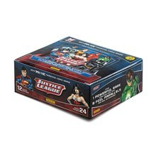 MetaX Justice League TCG Booster Display