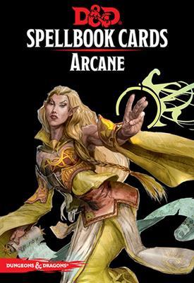 D&D: Updated Spellbook Cards - Arcane Deck
