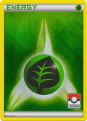 Grass Energy - 2011 Crosshatch Holo Pokemon League Promo