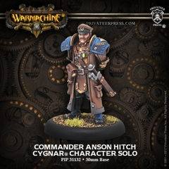 Cygnar - Commander Anson Hitch