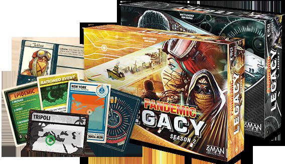 Pandemic Legacy: Season 2 (Yellow Box)