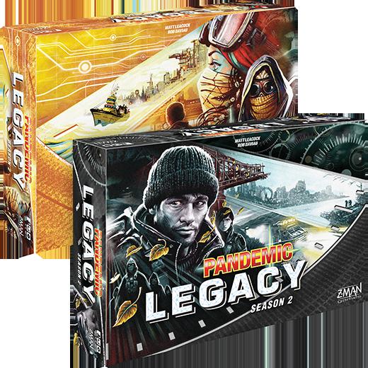 Pandemic Legacy: Season 2 (Black Box)