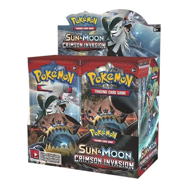 Sun & Moon - Crimson Invasion - Booster Box