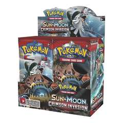 Sun & Moon: Crimson Invasion - Booster Box
