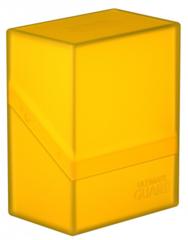 Ultimate Guard - Boulder Deck Box - 60ct - Amber