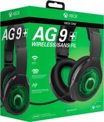 PDP Afterglow AG 9+ Wireless Headset - Black - Xbox One
