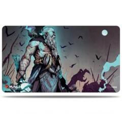 Kaldheim Playmat featuring Alrund, God of the Cosmos for Magic: The Gathering