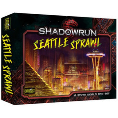 Shdowrun: Seattle Sprawl Box Set
