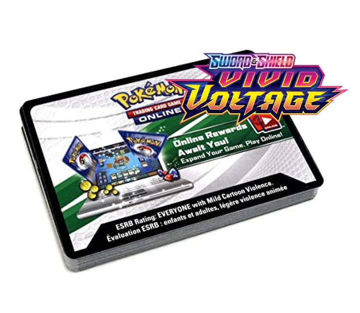 Pokemon - Vivid Voltage - Code Cards - 36 pk.