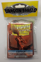 Dragon Shield - Small - 50ct - Copper
