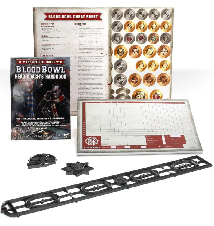 Blood Bowl Head Coachs Rules & Accessories Pack