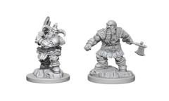 D&D Unpainted Minis - Wave 6 - Dwarf Barbarian (Male)