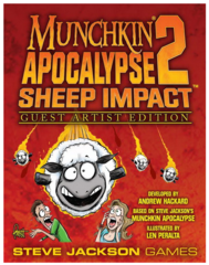 Munchkin Apocalypse 2 - Sheep Impact - Guest Artist Edition