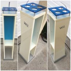 Wooden Nintendo Wii Tower