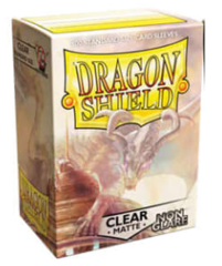 Dragon Shield - Standard - 100ct - Non Glare Matte - Clear