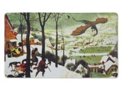 DS08 - Dragon Shield Playmat: Hunters In The Snow