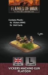 Flames of War - Vickers Machine-Gun Platoon