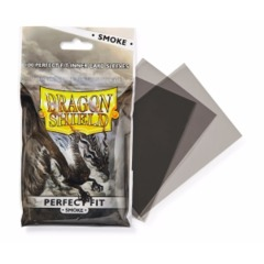 Dragon Shield - Standard - 100ct - Perfect Fit - Smoke