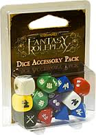 Fantasy Roleplay Dice Accesory Pack
