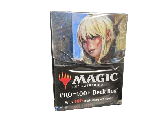 Ultra Pro - Trynn, Champion of Freedom Deck Box - Matching Sleeves 100ct