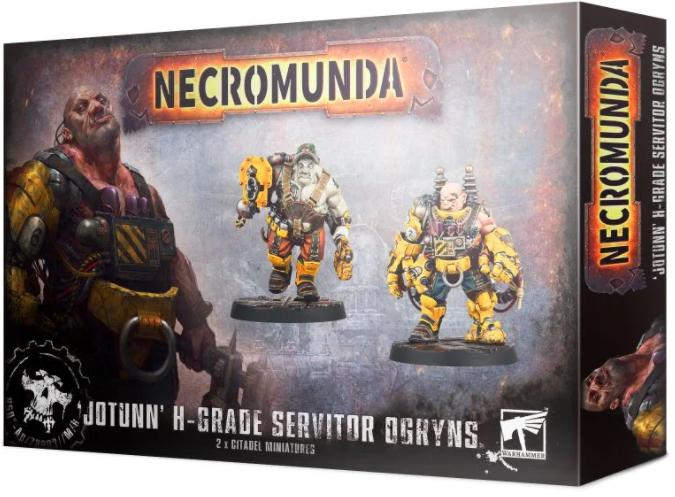 Necromunda - Jotunn H-Grade Servitor Ogryns
