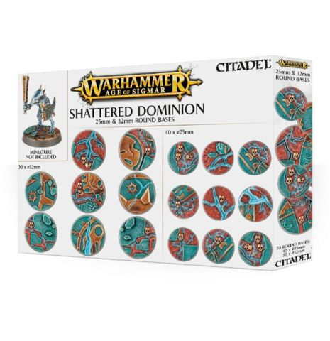 Age of Sigmar Shattered Dominion - 25mm & 32mm Round Bases