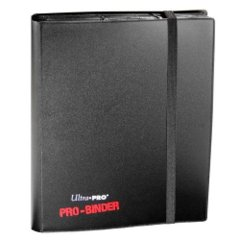 Ultra Pro - 9 Pocket Pro-Binder Black