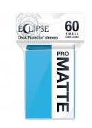 UltraPro Small Sleeves Matte Eclipse Light Blue 60 ct