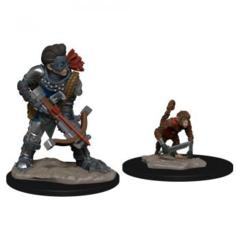 Wizkids Pre-Painted Miniatures: Boy Rogue & Monkey