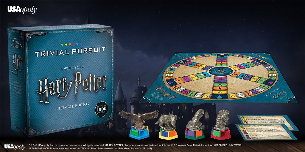 Trivial Pursuit: World of Harry Potter (Ultimate Edition
