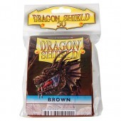 Dragon Shield - Small - 50ct - Brown