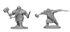 D&D Unpainted Minis - Wave 1 - Dwarf Male Fighter