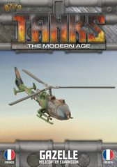 Tanks - The Modern Age - Gazelle - Helicopter Expansion - French