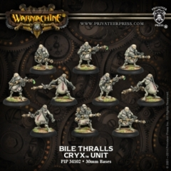 Cryx Bile Thralls Unit