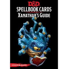 D&D: Xanathar`s Guide To Everything Spellbook Cards