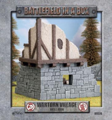 BB574 - Wartorn Village - Small Ruin