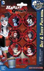 DC HeroClix: Harley Quinn Dice & Token Pack