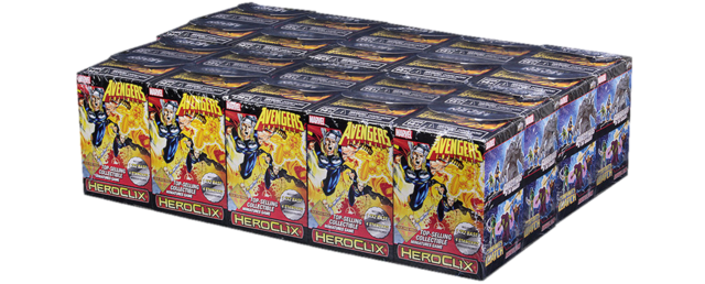 Marvel HeroClix: Avengers Infinity Colossal Booster Brick Case