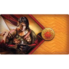 P129 - The Red Viper Playmat