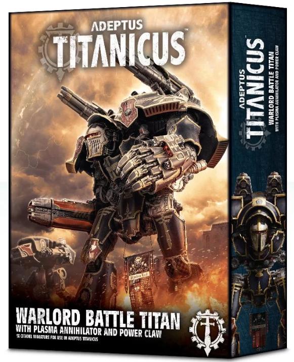 Adeptus Titanicus Warlord Battle Titan With Plasma