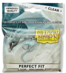 Dragon Shield - Perfect Fit - Side Load 100Ct Pack - Clear