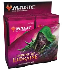 Throne of Eldraine Collector Booster Pack Display (12 Packs)