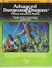Adv. D&D Dungeon Module I2 - Light Play