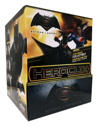 DC HeroClix: Batman vs. Superman Dawn of Justice Movie Gravity Feed Display