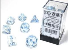 CHX: 27581Luminary Icicle/Light Blue Polyhedral 7-Die Set